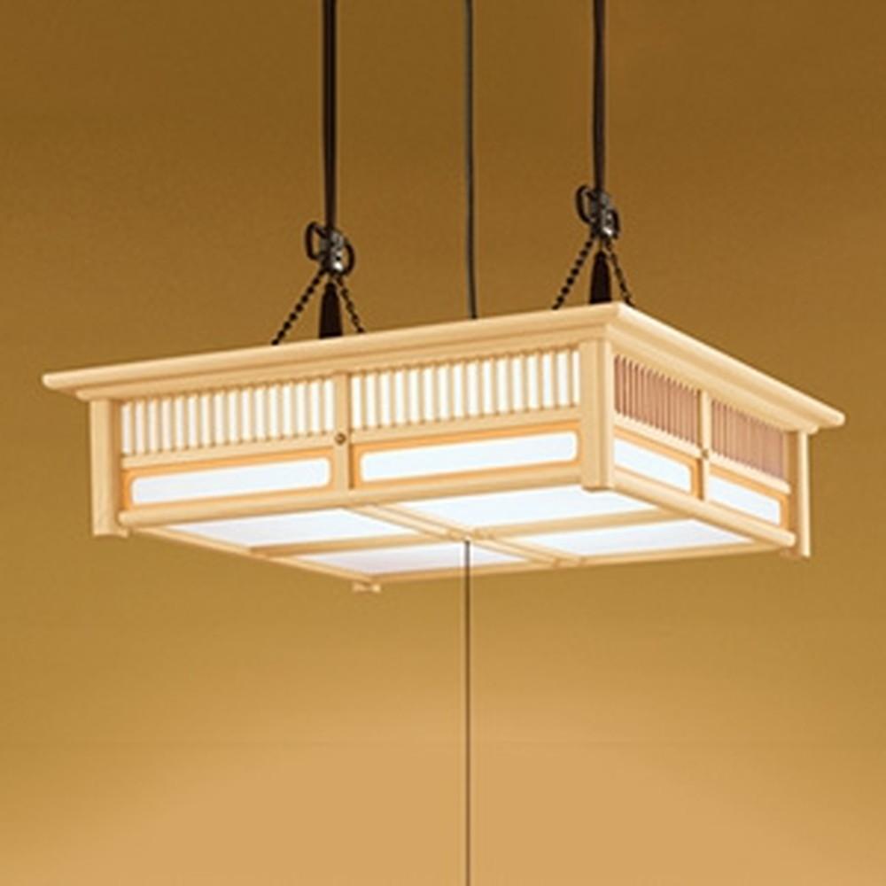 オーデリック LED和風ペンダントライト ~12畳用 電球色~昼光色 調光・調色タイプ リモコン付 OP252111