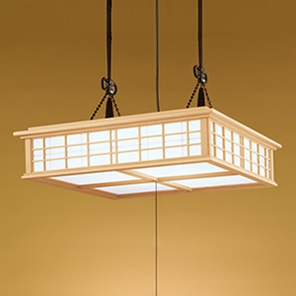オーデリック LED和風ペンダントライト ~12畳用 電球色~昼光色 調光・調色タイプ リモコン付 OP252112