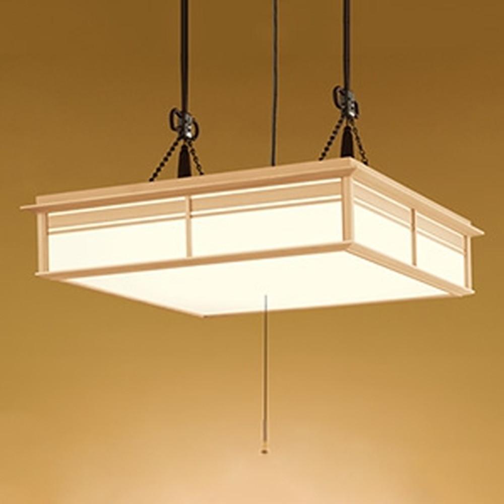 オーデリック LED和風ペンダントライト ~12畳用 電球色~昼光色 調光・調色タイプ リモコン付 OP252113