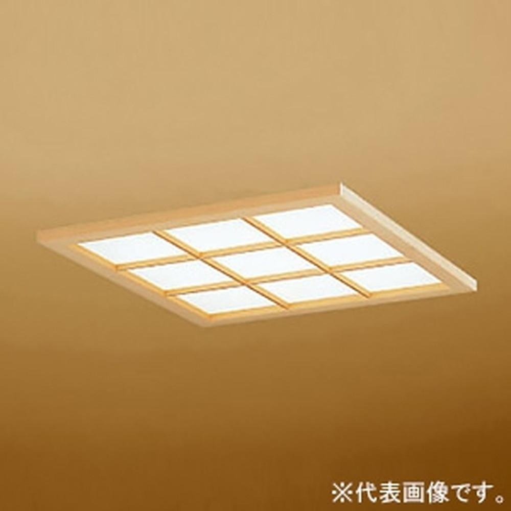 オーデリック LED和風ベースライト 埋込型 FHP32W×3灯相当 昼白色 埋込穴□450mm アクリルシート(和紙入) OD066194SN