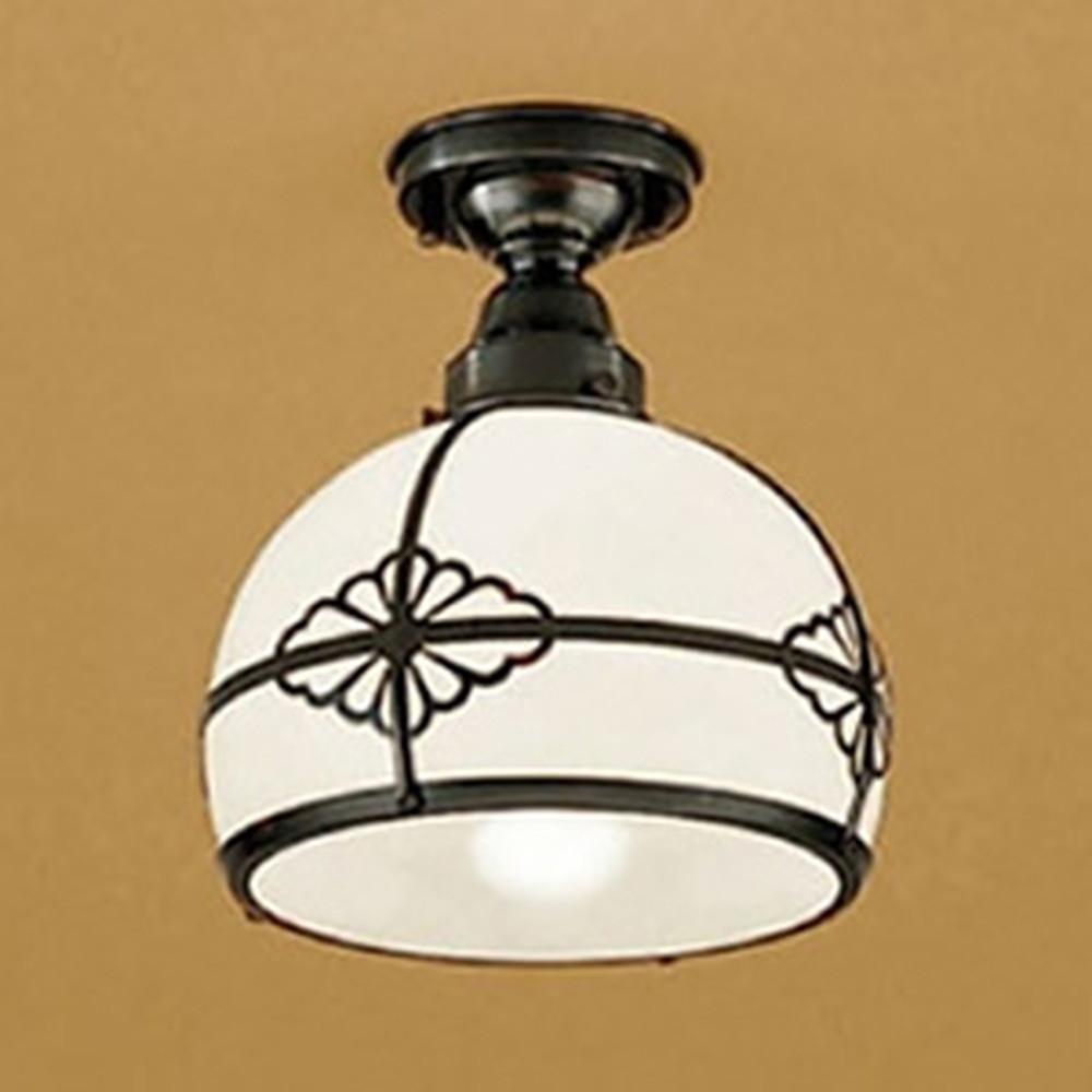 オーデリック LED和風シーリングライト 白熱灯60W相当 電球色 調光タイプ OL125041LC