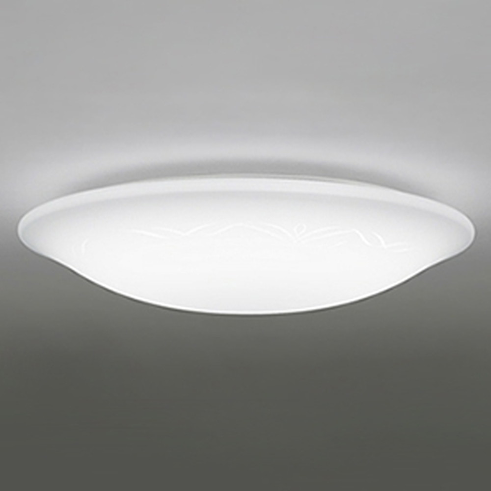 オーデリック LEDシーリングライト ~8畳用 電球色~昼光色 調光・調色タイプ リモコン付 OL251513
