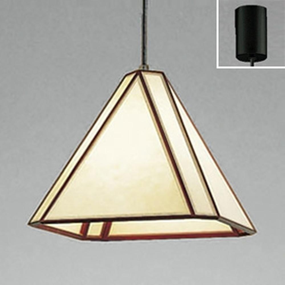オーデリック LED和風ペンダントライト 白熱灯100W相当 電球色・昼白色 光色切替調光タイプ OP035135PC