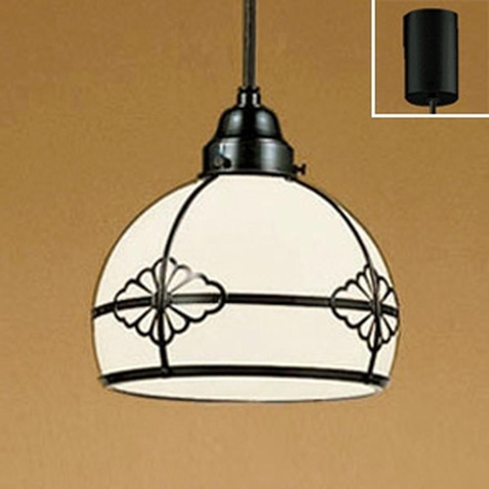 オーデリック LED和風ペンダントライト 白熱灯60W相当 電球色 OP125021LD