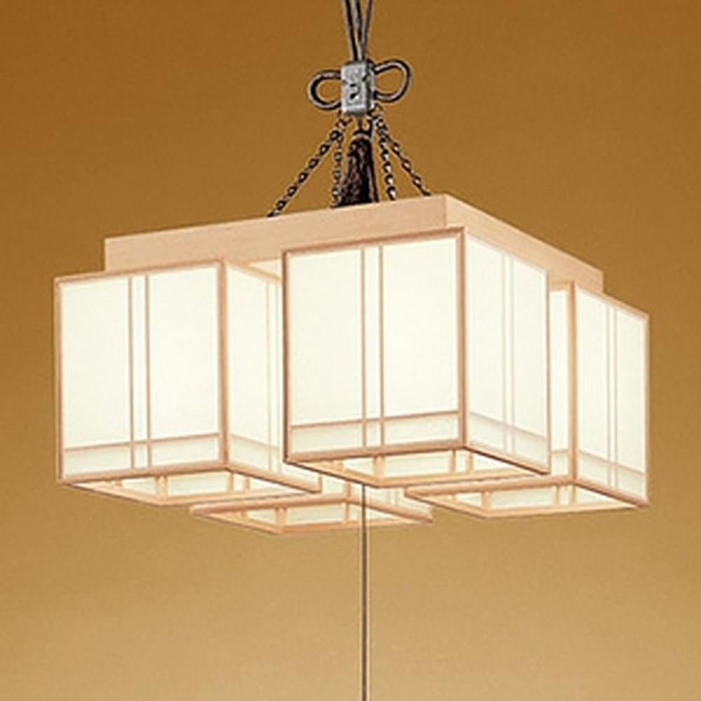 オーデリック LED和風シーリングライト ~8畳用 天井直付・吊下げ両用型 電球色 スイッチ付 OC114104LD