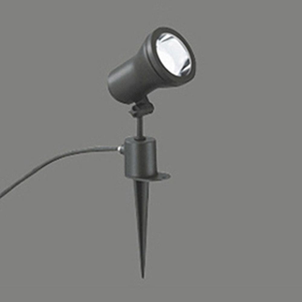 オーデリック LEDスポットライト 防雨型 白熱灯60W相当 電球色 黒色サテン OG044170LD