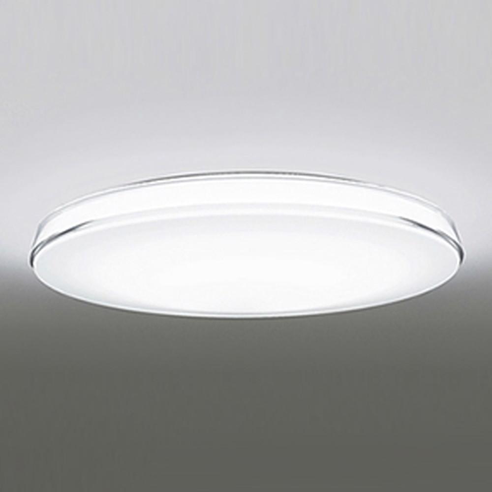 オーデリック LEDシーリングライト ~8畳用 《CLEAR COMPOSITION》 電球色~昼光色 調光・調色タイプ リモコン付 OL251428P1