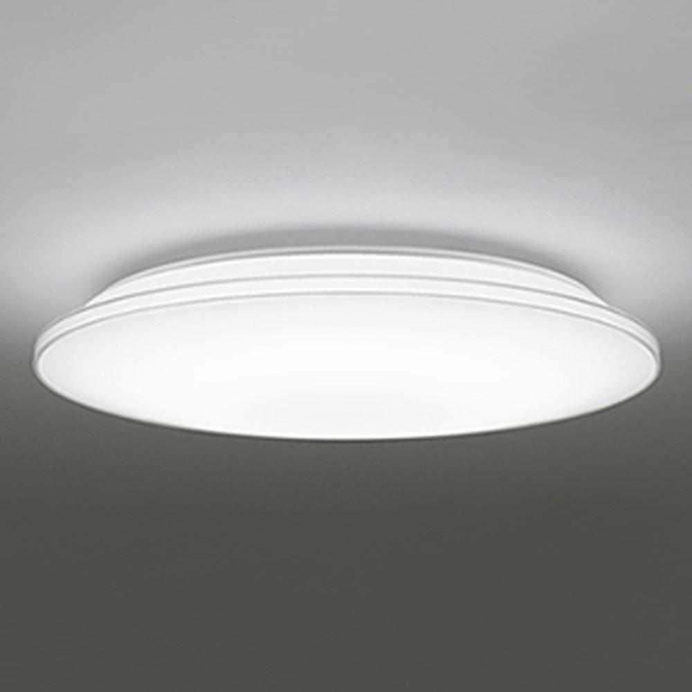 オーデリック LEDシーリングライト ~10畳用 電球色~昼光色 調光・調色タイプ リモコン付 透明 OL251213