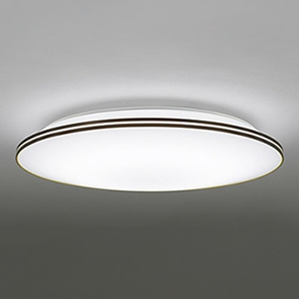 オーデリック LEDシーリングライト ~10畳用 電球色~昼光色 調光・調色タイプ リモコン付 エボニーブラウン OL251215