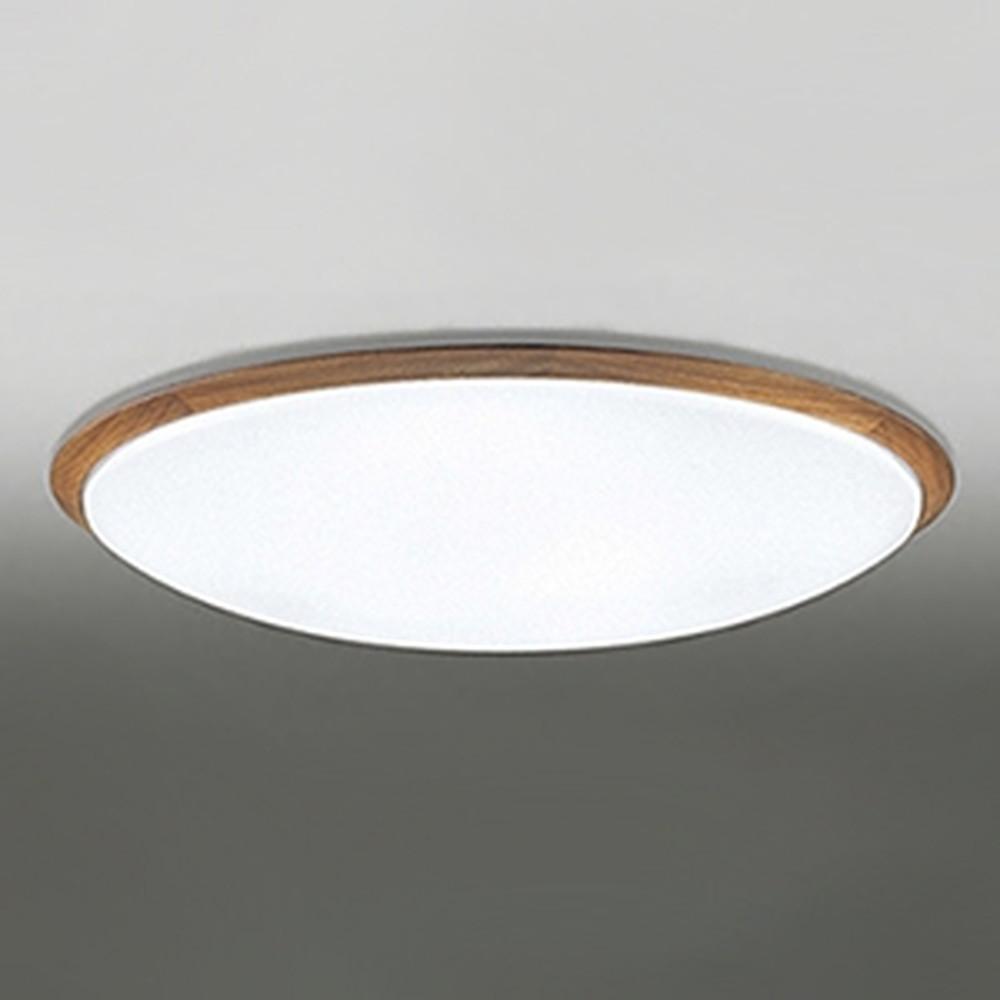 オーデリック LEDシーリングライト ~14畳用 電球色~昼光色 調光・調色タイプ リモコン付 チェリー OL251263