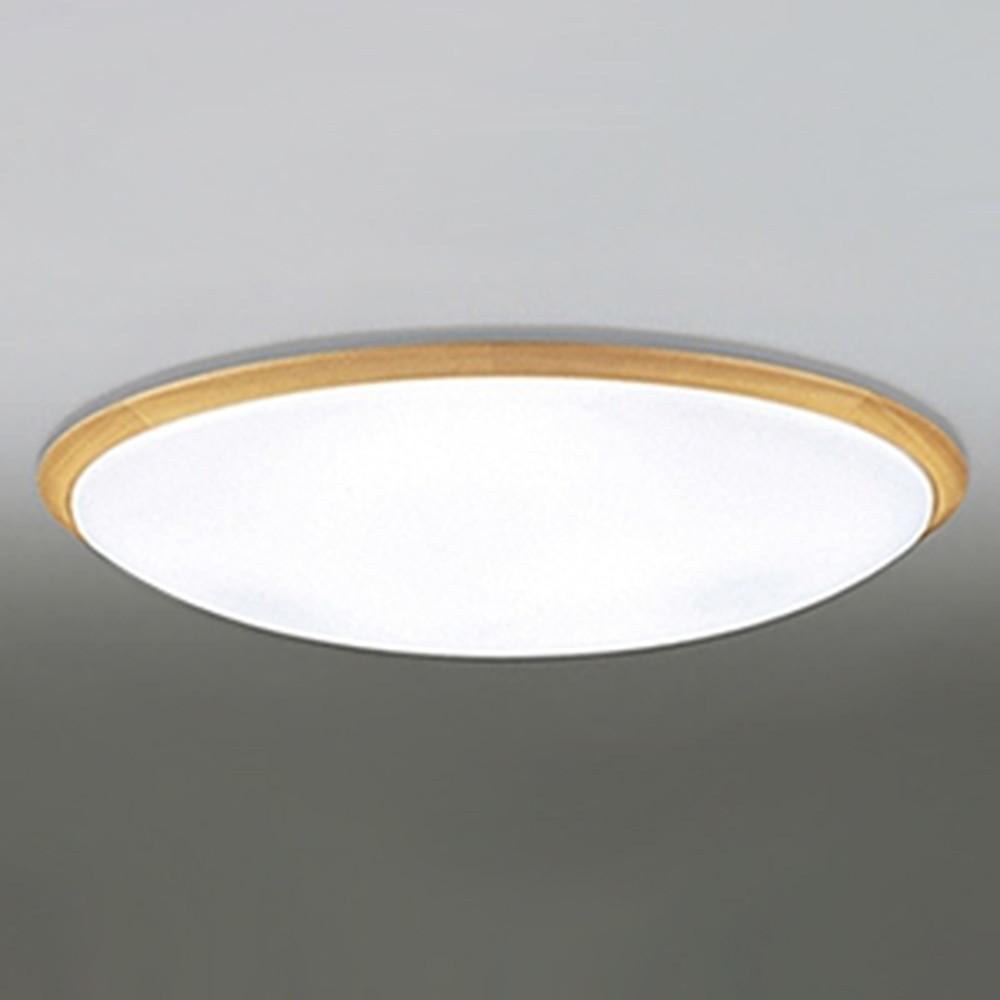 オーデリック LEDシーリングライト ~12畳用 電球色~昼光色 調光・調色タイプ リモコン付 ナチュラル OL251623