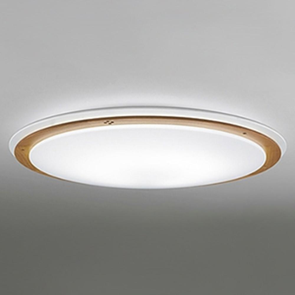 オーデリック LEDシーリングライト ~12畳用 電球色~昼光色 調光・調色タイプ リモコン付 OL251284