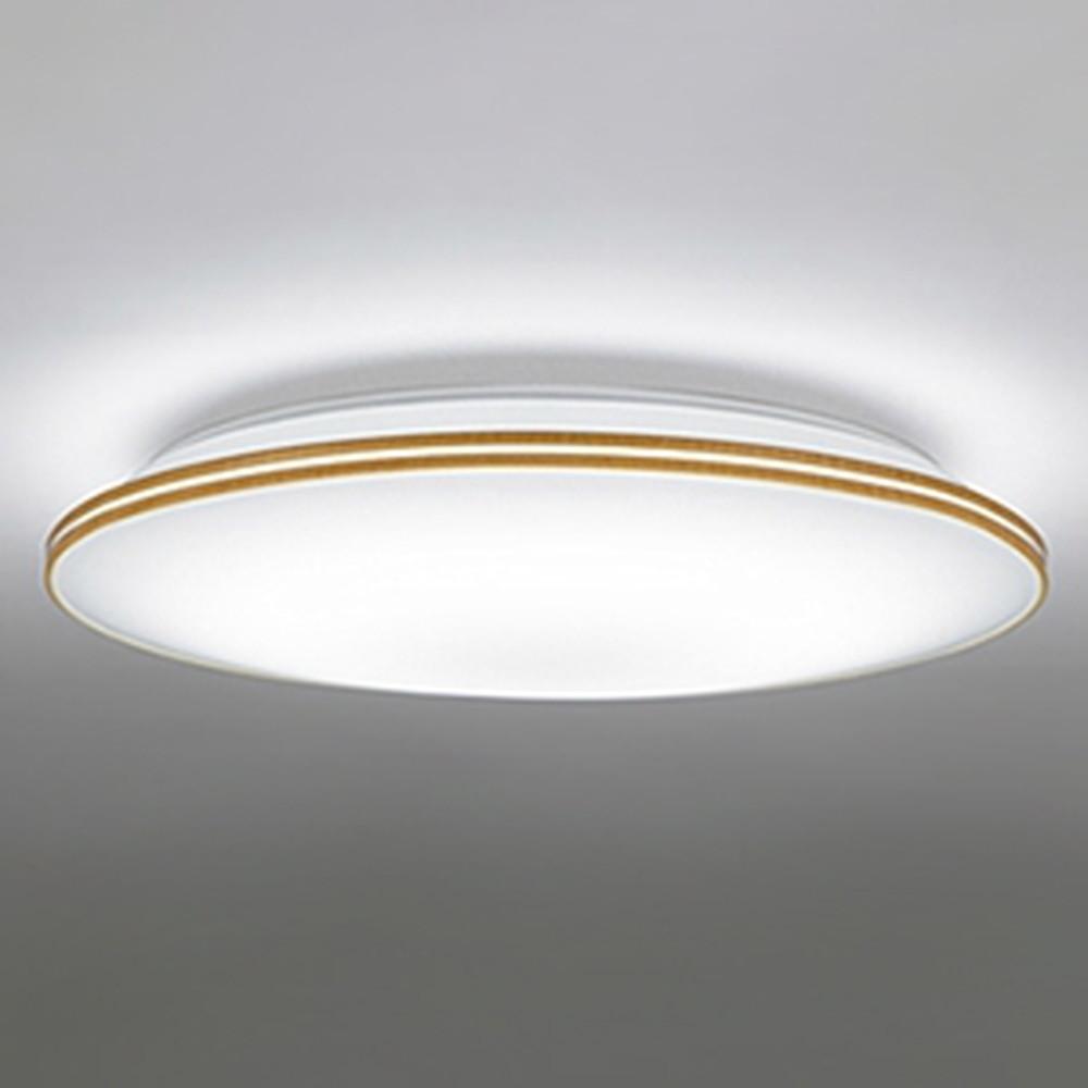 オーデリック LEDシーリングライト ~10畳用 電球色~昼光色 調光・調色タイプ リモコン付 ナチュラル OL251540