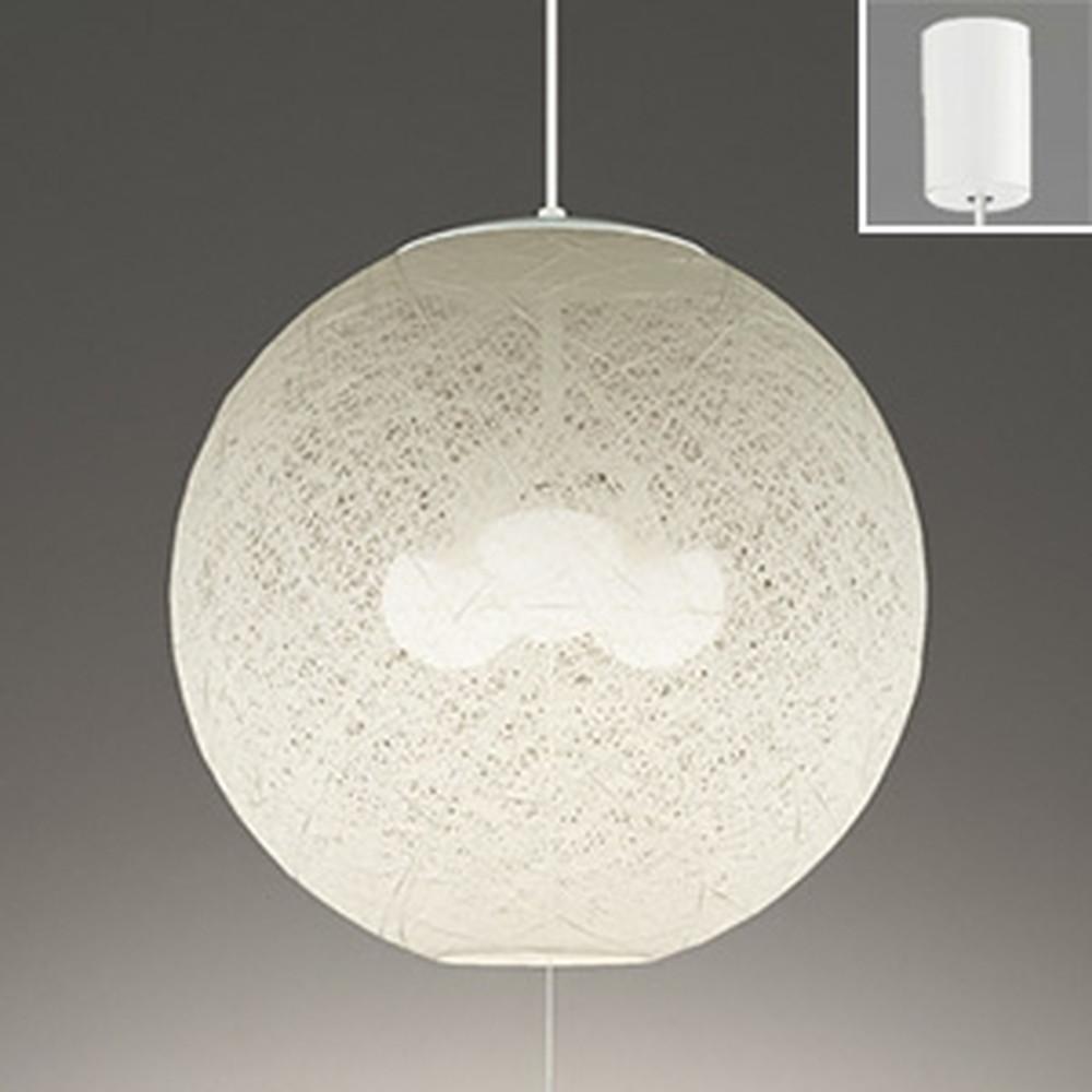 オーデリック LED和風ペンダントライト ~8畳用 LED電球ボール球形×3灯 電球色 OP035213LD