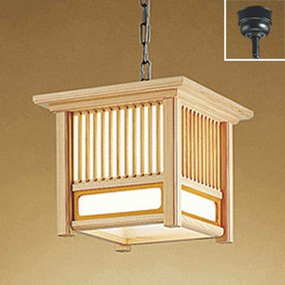 オーデリック LED和風ペンダントライト 白熱灯100W相当 電球色 傾斜天井対応 OP035368LD