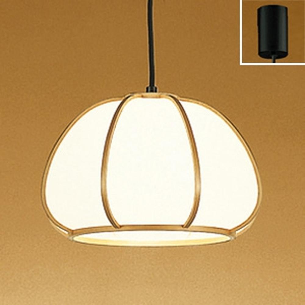 オーデリック LED和風ペンダントライト 白熱灯100W相当 電球色 OP050102LD