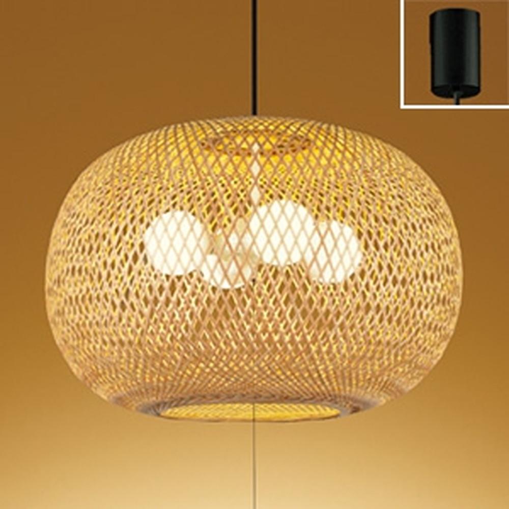 オーデリック LED和風ペンダントライト ~6畳用 LED電球ボール球形×4灯 電球色 OP052067LD