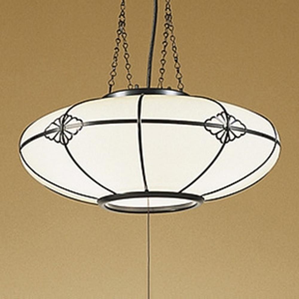 オーデリック LED和風ペンダントライト ~6畳用 LED電球一般形×3灯 電球色 OP125023LD