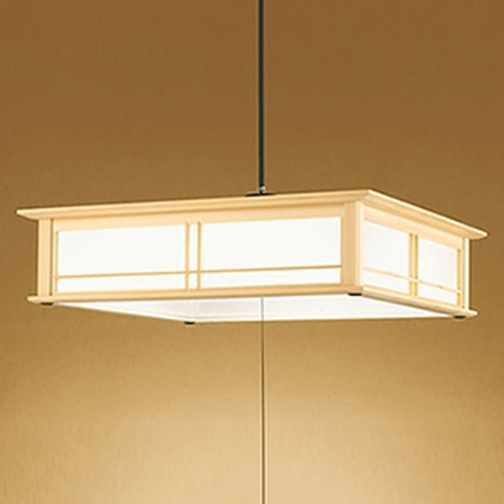 オーデリック LED和風ペンダントライト ~12畳用 電球色~昼光色 調光・調色タイプ リモコン付 OP252235