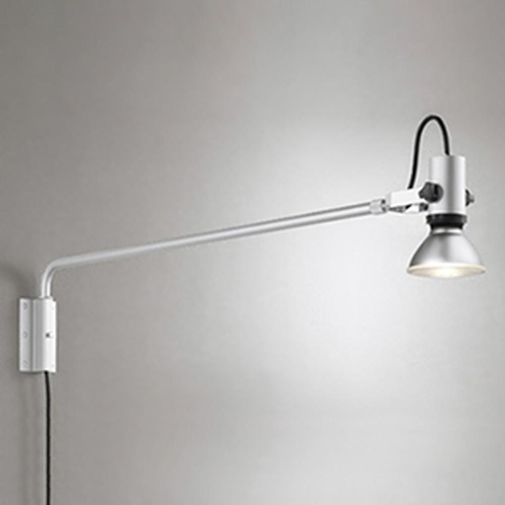 オーデリック LEDスポットライト 防雨型 背面取付可能型 ビーム球150W相当 E26口金 ランプ別売 マットシルバー OG254200