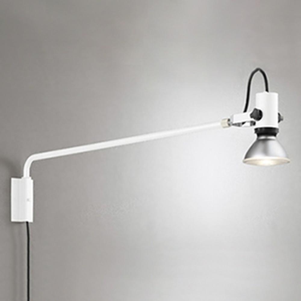 オーデリック LEDスポットライト 防雨型 背面取付可能型 ビーム球150W相当 E26口金 ランプ別売 オフホワイト OG254198