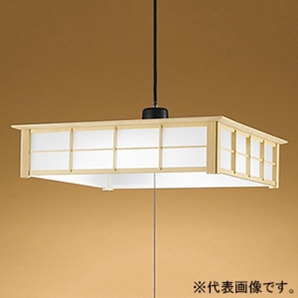 オーデリック LED和風ペンダントライト ~12畳用 昼白色 段調光タイプ OP252362N