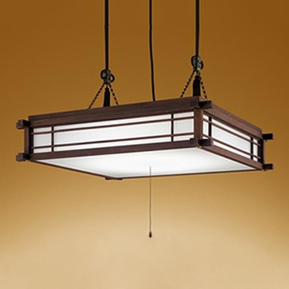 オーデリック LED和風ペンダントライト ~12畳用 電球色~昼光色 調光・調色タイプ リモコン付 OP252366