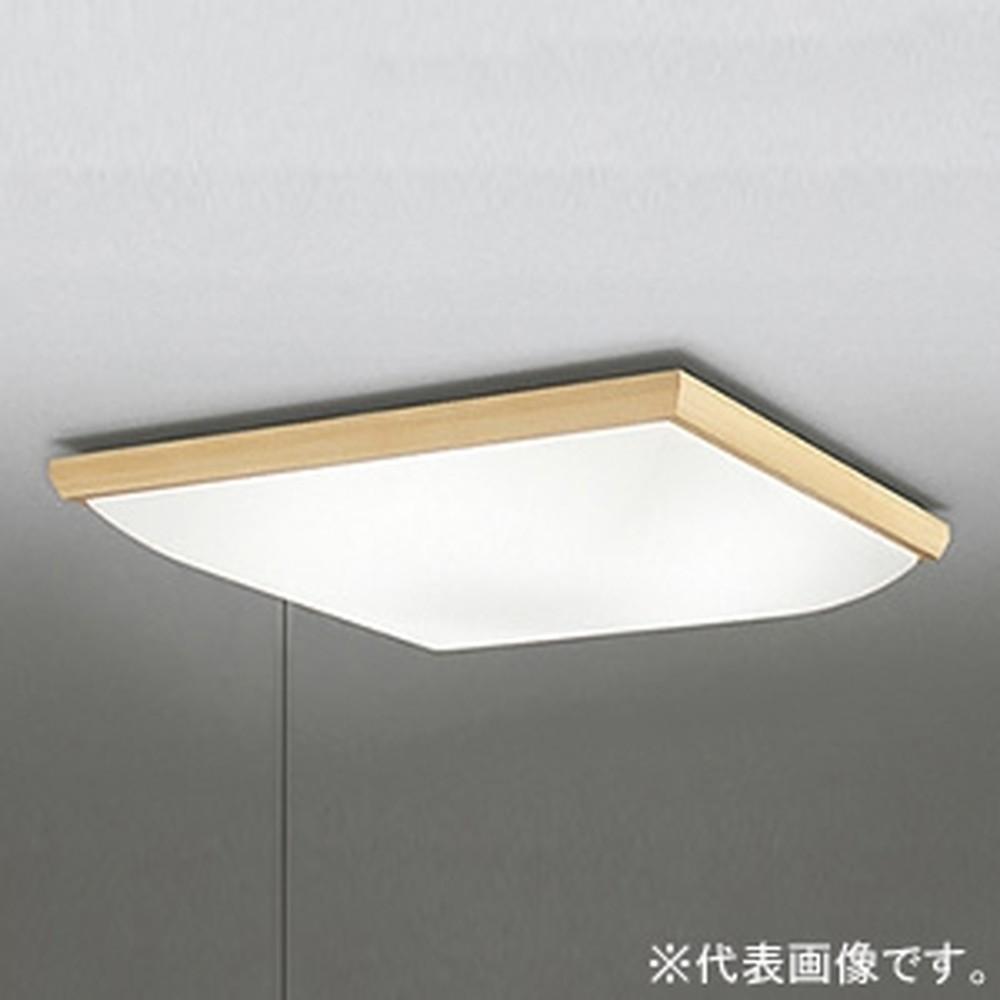 オーデリック LED和風シーリングライト ~12畳用 電球色 調光タイプ 横出しスイッチ付 OL251631L