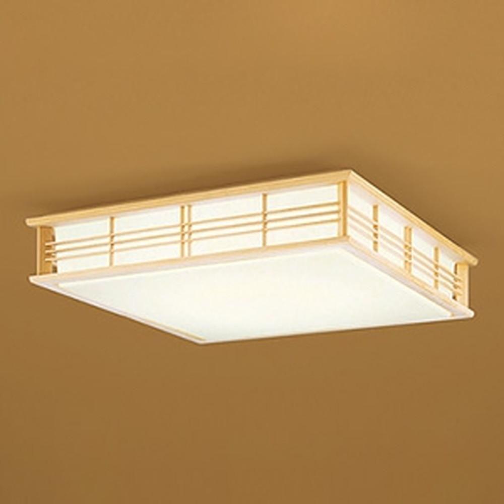 オーデリック LED和風シーリングライト ~8畳用 電球色~昼光色 調光・調色タイプ リモコン付 OL251596