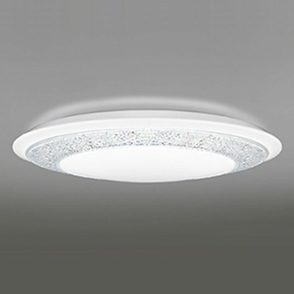 オーデリック LEDシーリングライト ~10畳用 《GIRA-deco》 電球色~昼光色 調光・調色タイプ リモコン付 OL251598