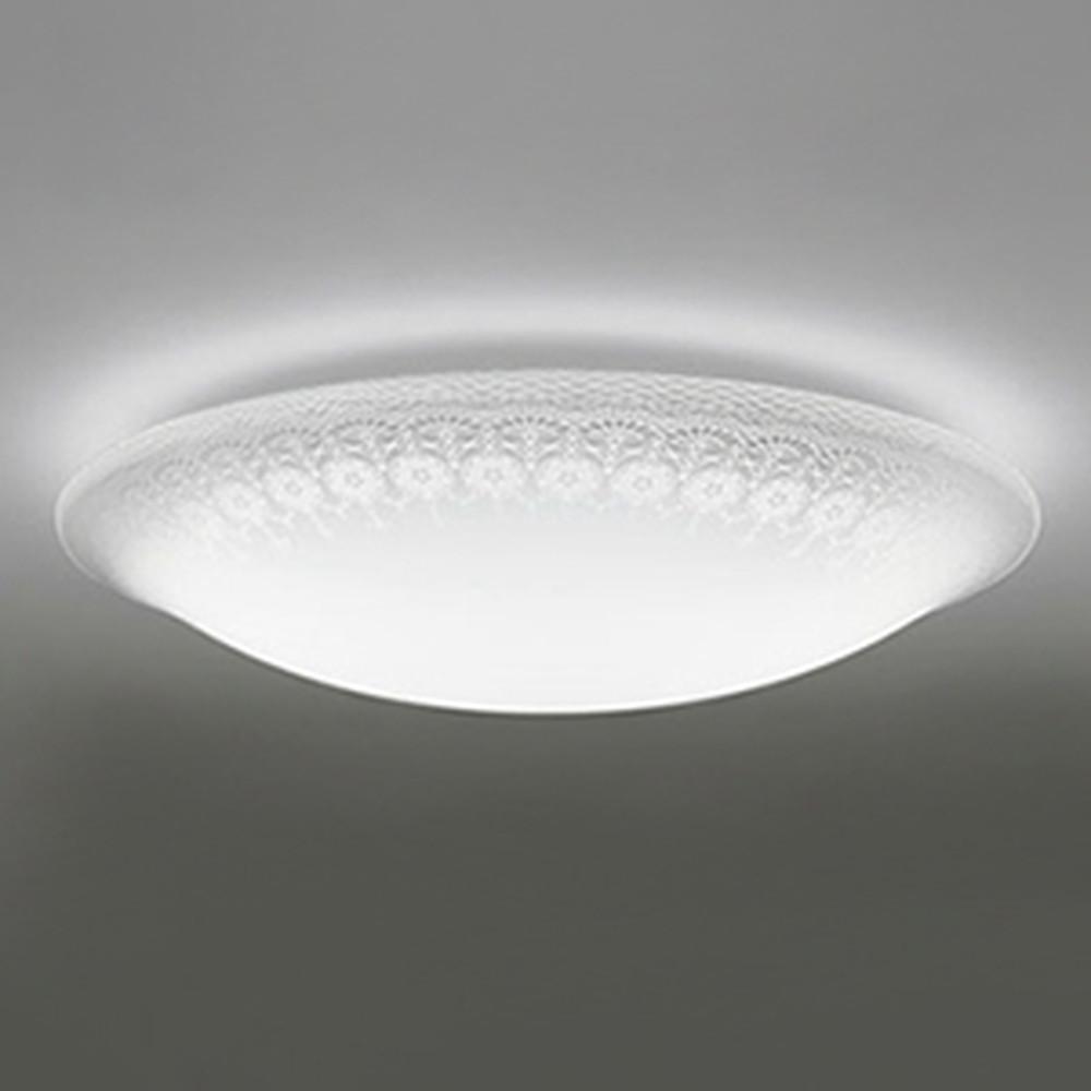 オーデリック LEDシーリングライト ~8畳用 電球色~昼光色 調光・調色タイプ リモコン付 OL251709