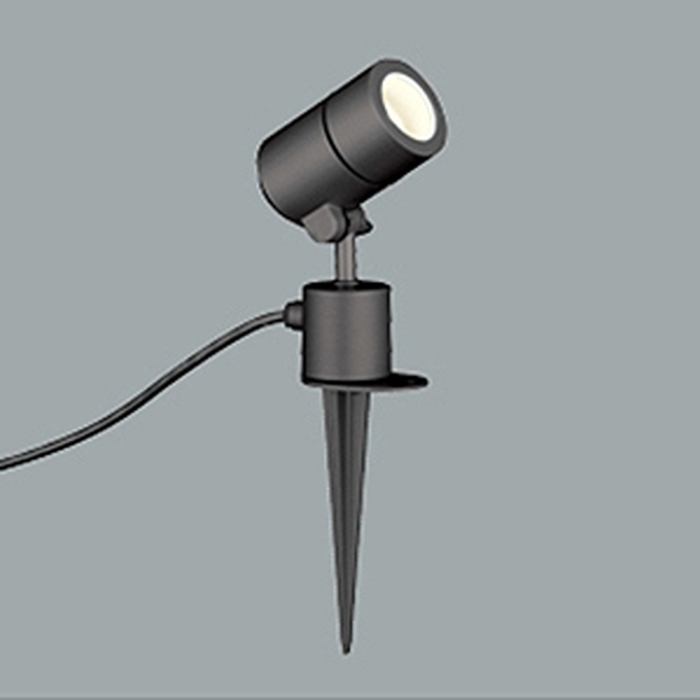オーデリック LEDスポットライト 防雨型 白熱灯50W相当 電球色 黒色サテン OG254573LD