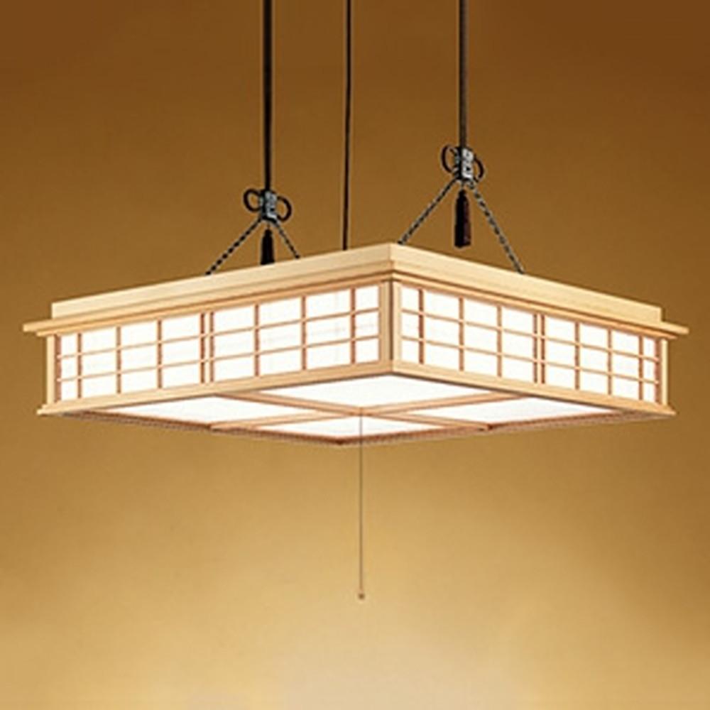 オーデリック LED和風ペンダントライト ~14畳用 電球色~昼光色 調光・調色タイプ リモコン付 OP252160