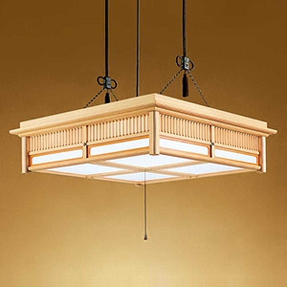 オーデリック LED和風ペンダントライト ~14畳用 電球色~昼光色 調光・調色タイプ リモコン付 OP252407