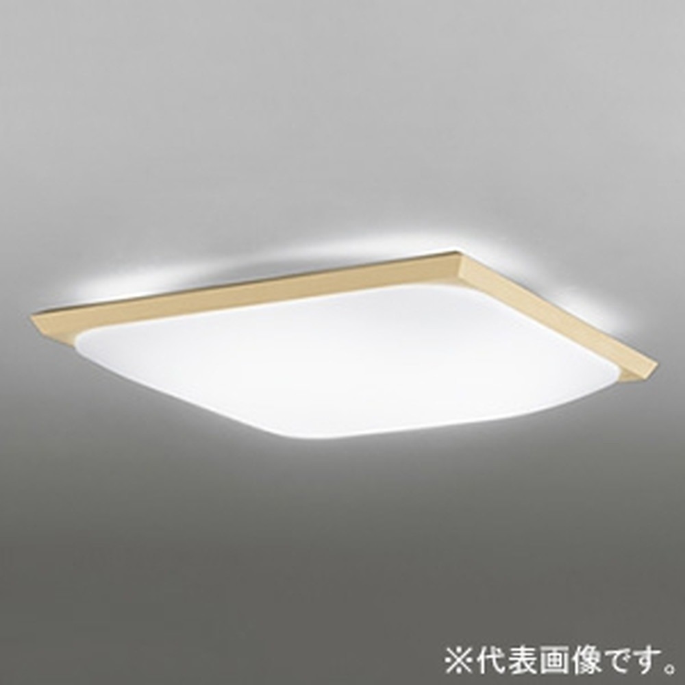 オーデリック LED和風シーリングライト ~6畳用 電球色 調光タイプ リモコン付 OL291017L