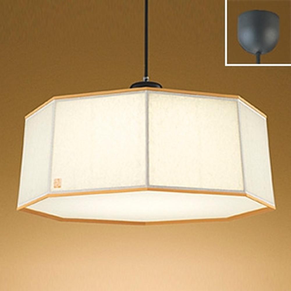 オーデリック LED和風ペンダントライト ~8畳用 電球色 秋田杉 OP252392