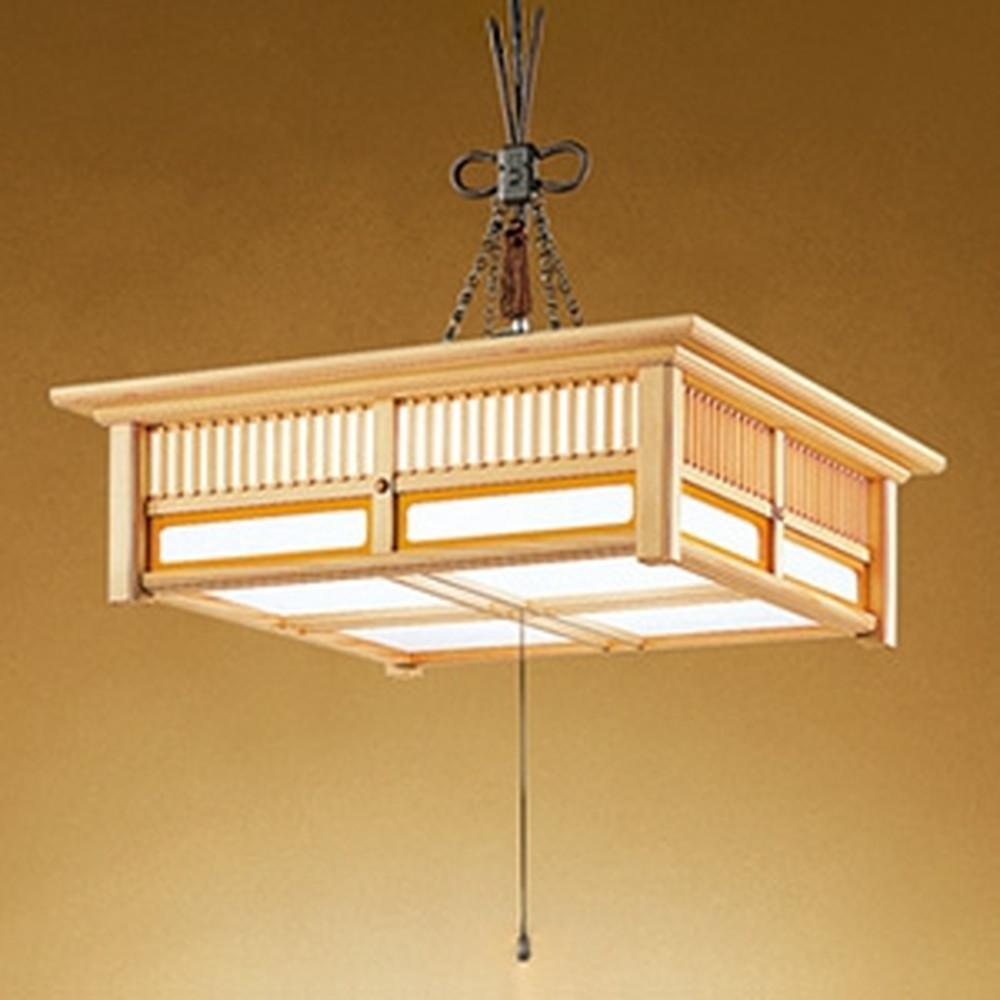 オーデリック LED和風ペンダントライト ~8畳用 電球色~昼光色 調光・調色タイプ リモコン付 OP252388