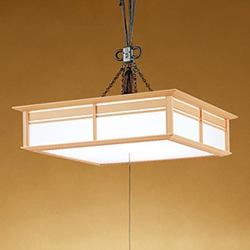 オーデリック LED和風ペンダントライト ~8畳用 電球色~昼光色 調光・調色タイプ リモコン付 OP252390