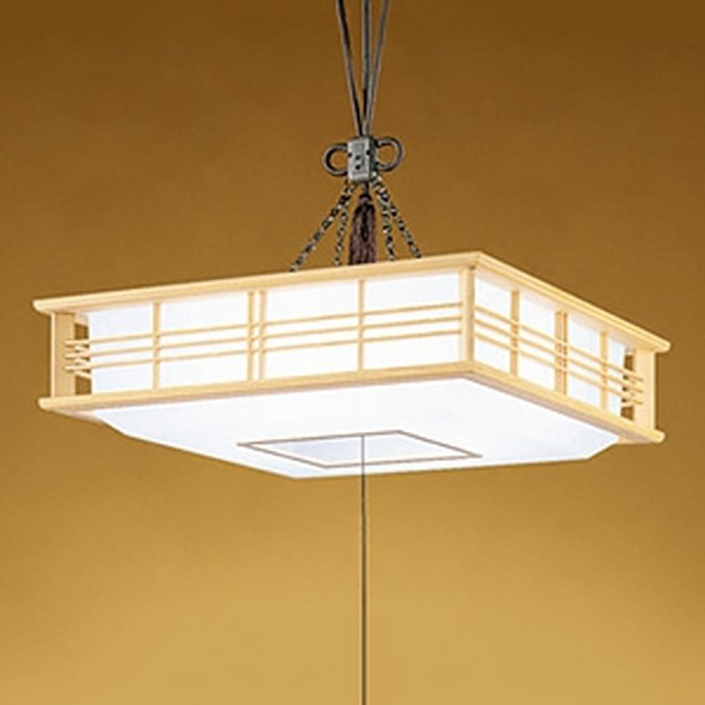 オーデリック LED和風ペンダントライト ~8畳用 電球色~昼光色 調光・調色タイプ リモコン付 OP252391