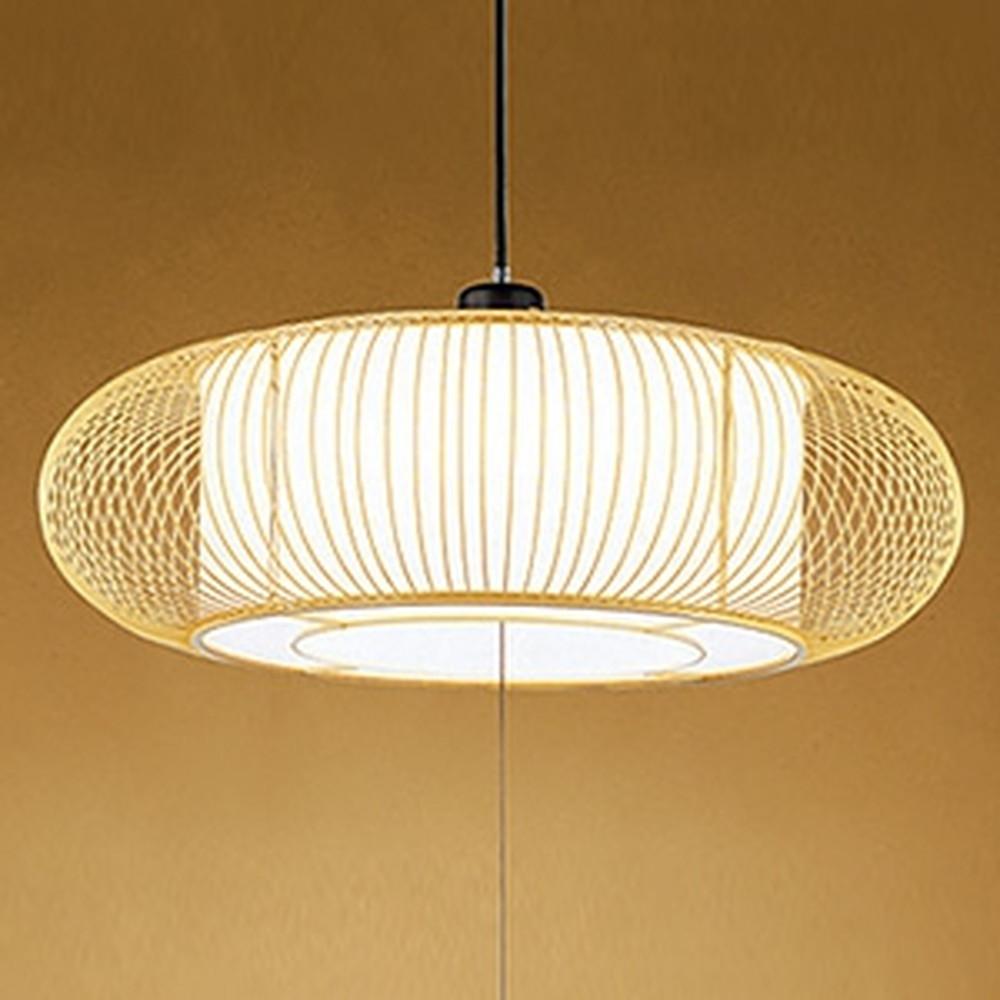 オーデリック LED和風ペンダントライト ~8畳用 電球色~昼光色 調光・調色タイプ リモコン付 OP252403