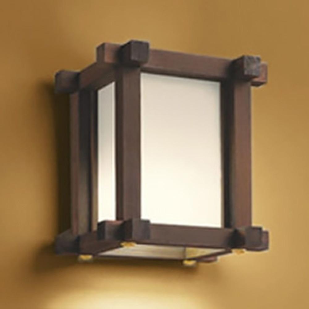 オーデリック LED和風ブラケットライト 白熱灯60W相当 電球色 調光タイプ OB255124LC