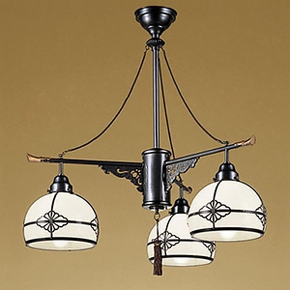 オーデリック LED和風シャンデリア 白熱灯100W×3灯相当 電球色 調光タイプ OC125011LC