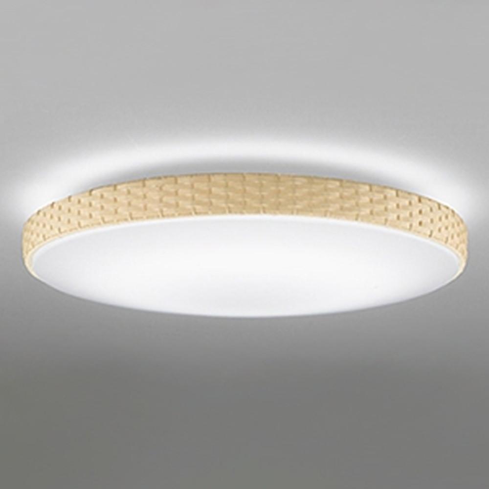 オーデリック LEDシーリングライト ~10畳用 電球色~昼光色 調光・調色タイプ リモコン付 ベージュ OL251825