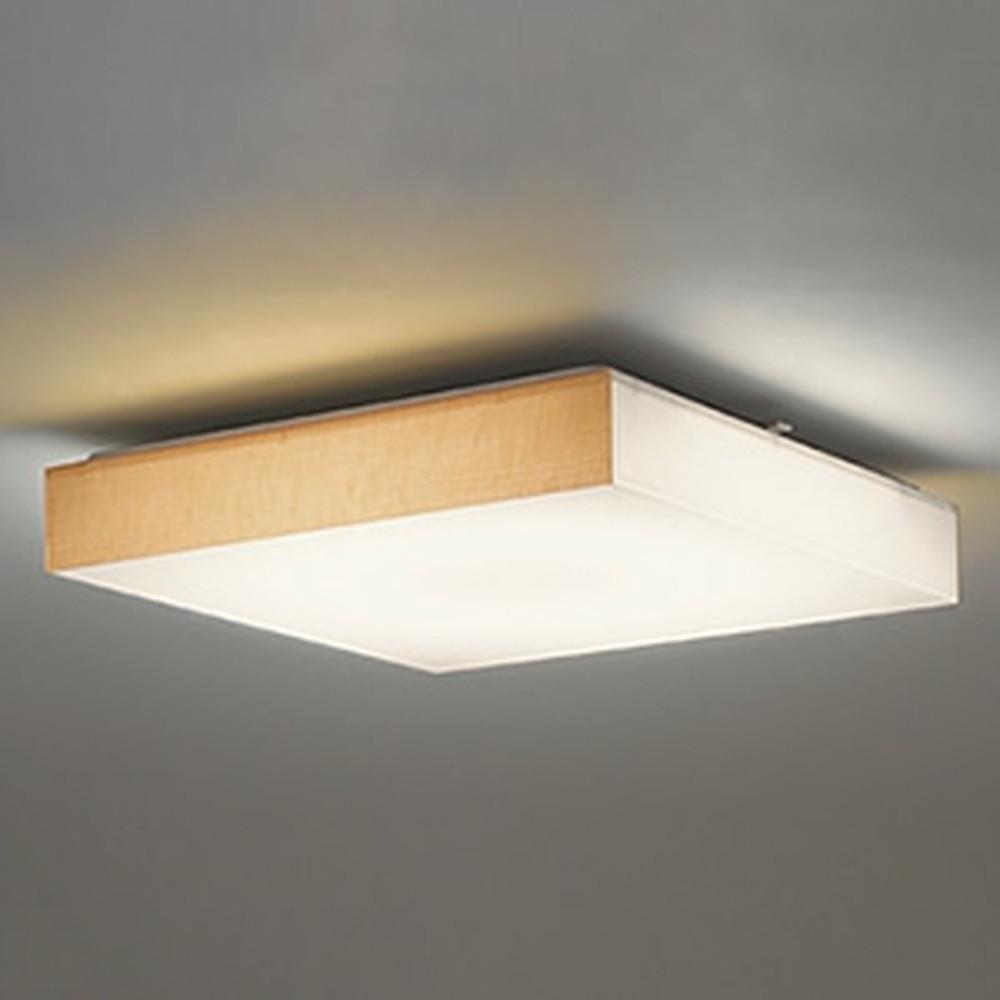 オーデリック LED和風シーリングライト ~12畳用 電球色~昼光色 調光・調色タイプ リモコン付 OL251833
