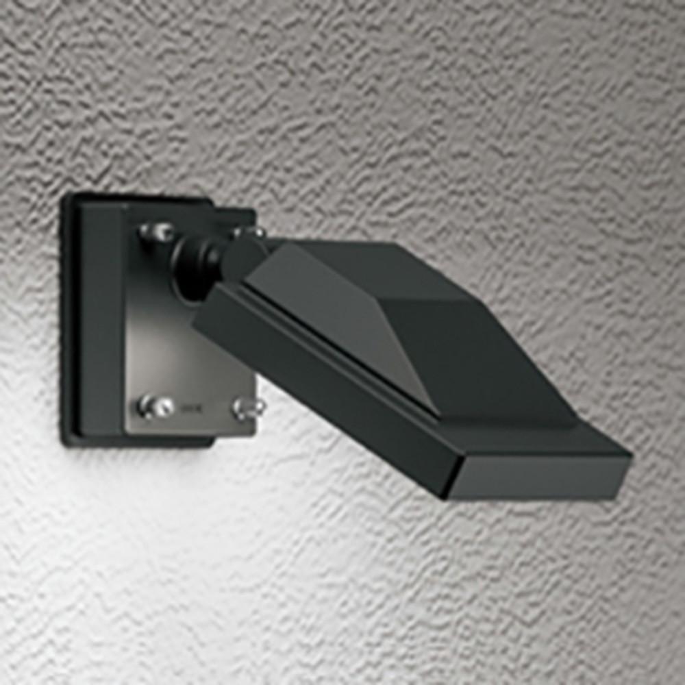 オーデリック LEDスポットライト 防雨型 壁面・天井面取付兼用 ビーム球150W相当 昼白色 ブラック OG254677