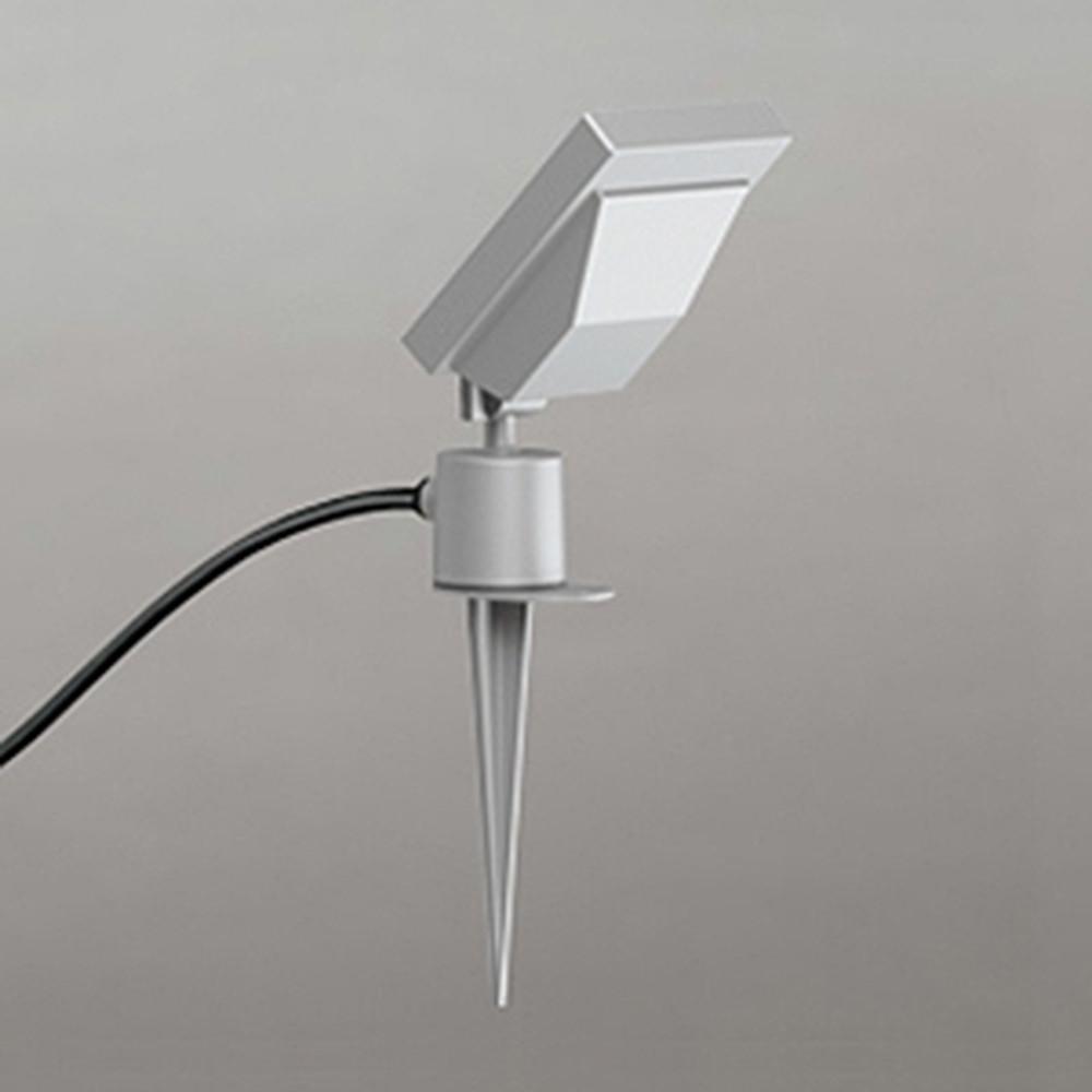 オーデリック LEDスポットライト 防雨型 ビーム球150W相当 電球色 マットシルバー OG254688