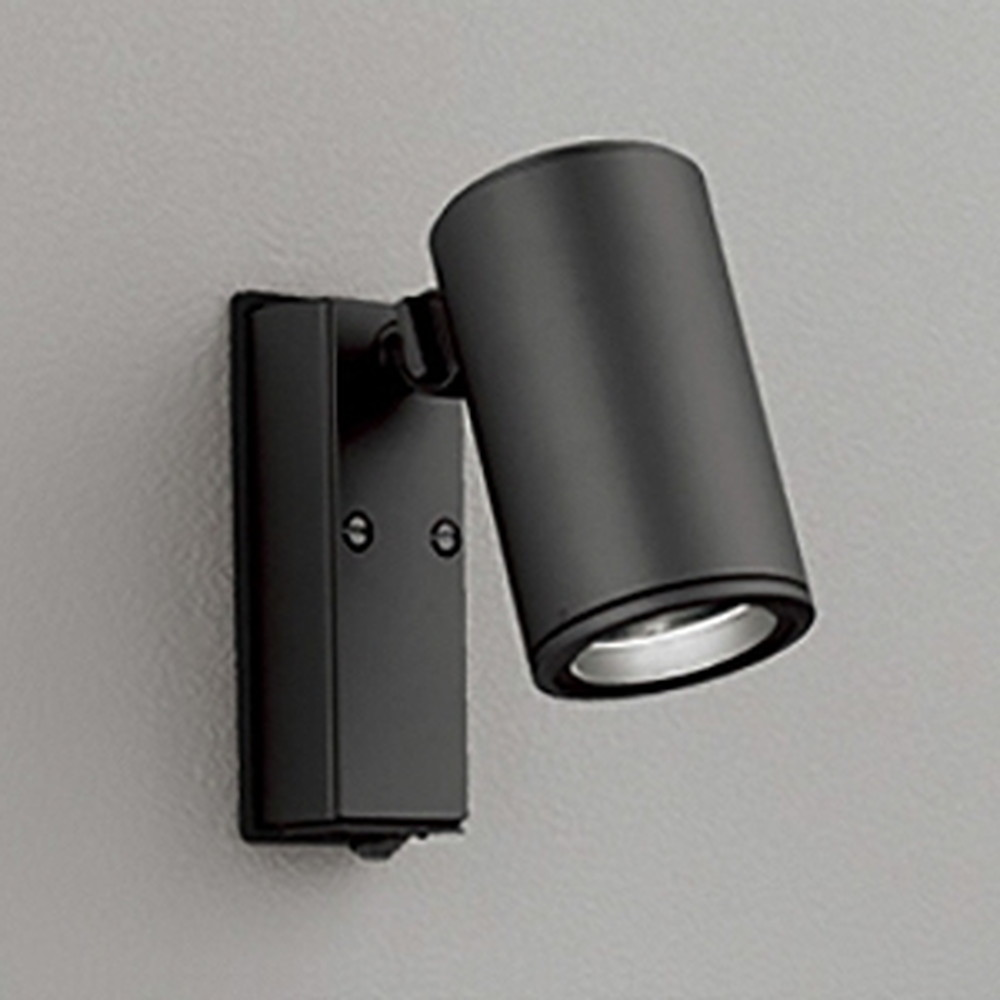 オーデリック LEDスポットライト COBタイプ 防雨型 ビーム球150W相当 電球色 ワイド配光 人感センサ付 ブラック OG254543