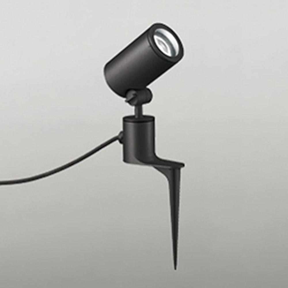 オーデリック LEDスポットライト COBタイプ 防雨型 ビーム球150W相当 電球色 ミディアム配光 ブラック OG254351