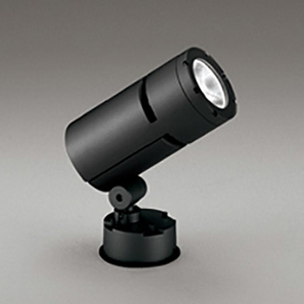 オーデリック LEDスポットライト COBタイプ 防雨型 壁面・天井面・床面取付兼用 CDM-T70W相当 昼白色 ナロー配光 電源装置内蔵 ブラック OG254754