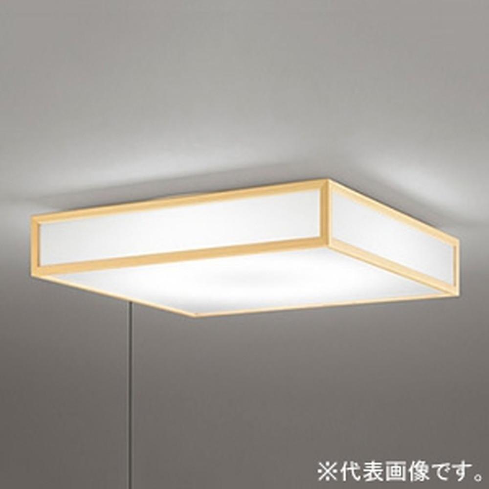 オーデリック LED和風シーリングライト ~10畳用 電球色 調光タイプ 横出しスイッチ付 OL291097L